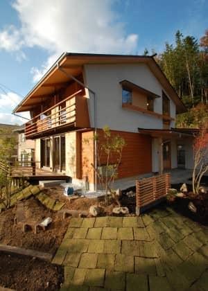 自然と暮らす家
