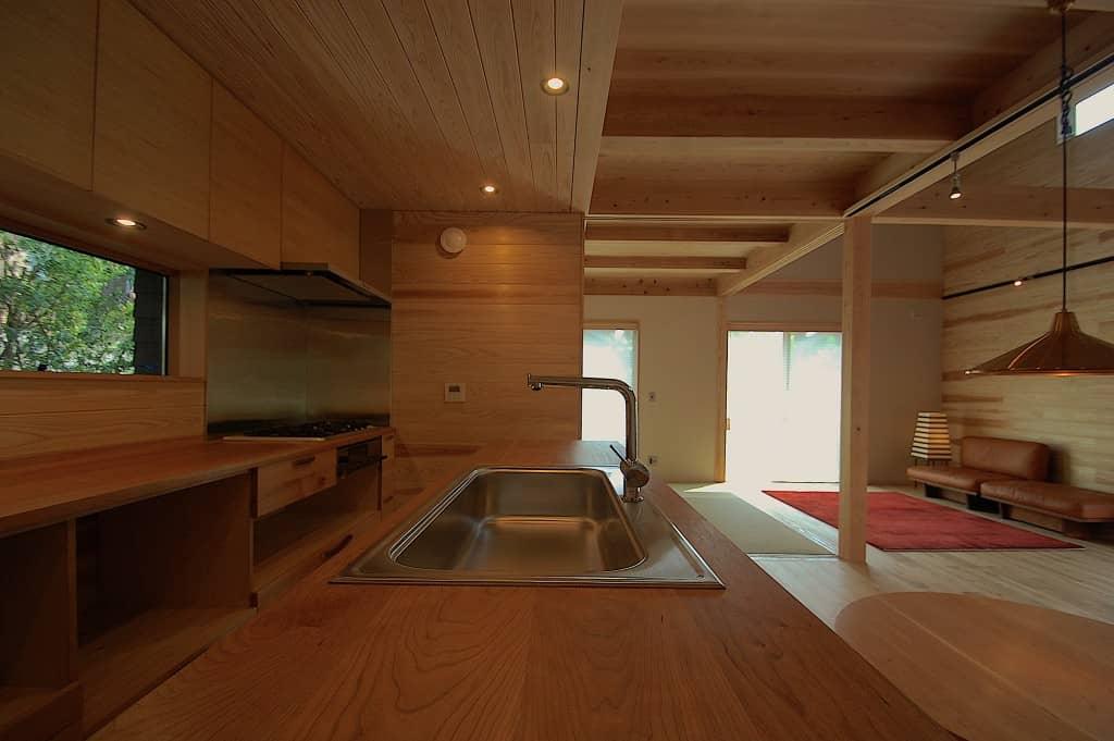 A邸キッチン